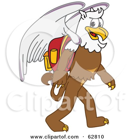 Royalty-Free (RF) Griffin Mascot Clipart, Illustrations, Vector ...