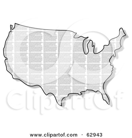 Vector USA Outline Map - Download Free Vectors, Clipart Graphics & Vector  Art