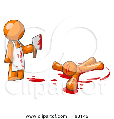Royalty-Free (RF) Killer Clipart, Illustrations, Vector ... Kids Halloween Clipart Black And White