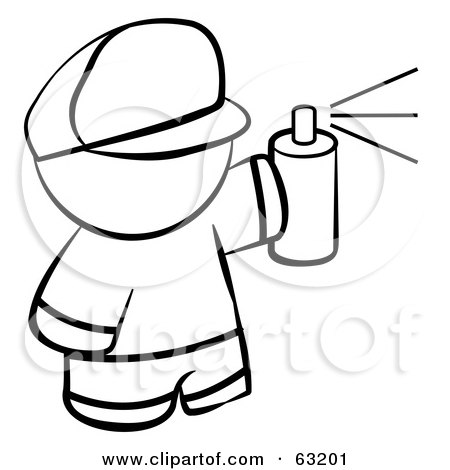 spray paint coloring pages-#9