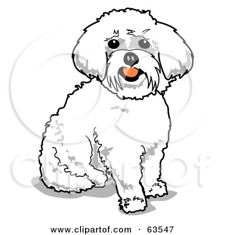 Royalty-Free (RF) Clipart Illustration of a Sitting Happy ...