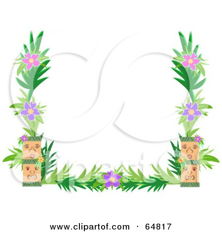Flower Picture Frame on Featuring Flower Color Line Border Download Art Flower Art Nouveau