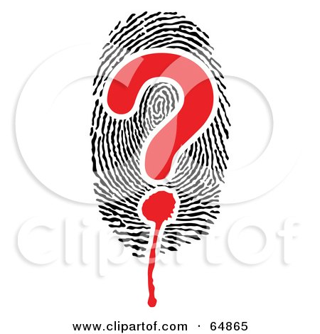 http://images.clipartof.com/small/64865-Royalty-Free-RF-Clipart-Illustration-Of-A-Question-Mark-Over-A-Thumb-Print.jpg