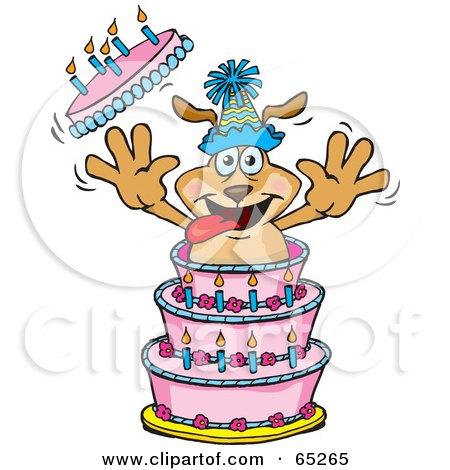 Royalty-Free (RF) Birthday Cake Clipart, Illustrations ...