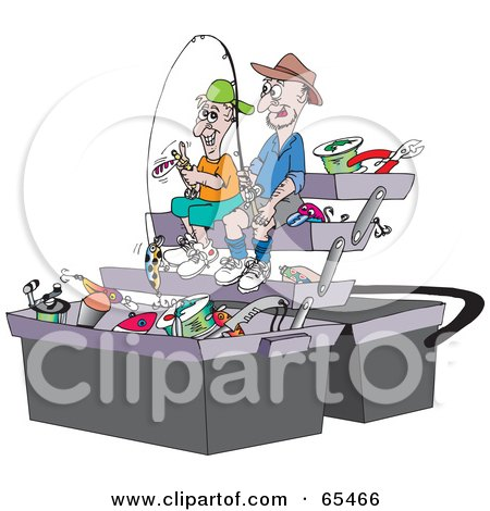 Royalty-Free (RF) Clipart of Fishing Lures, Illustrations, Vector ...