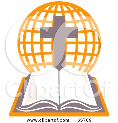 Holy Bible And Cross Clipart