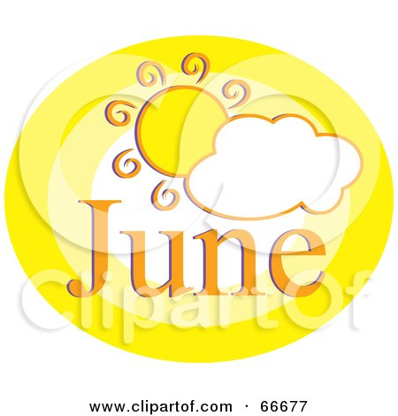 Royalty-Free (RF) June Clipart, Illustrations, Vector Graphics #1