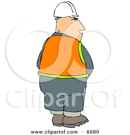 Male Construction Worker Urinating Posters, Art Prints