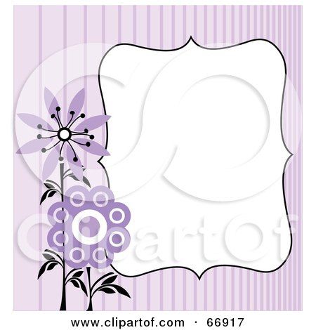 free flower clip art borders. Royalty-free clipart picture