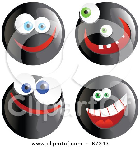 small pictures of smiley faces. Black Happy Smiley Faces