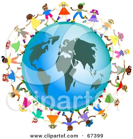 Around the World Clip Art