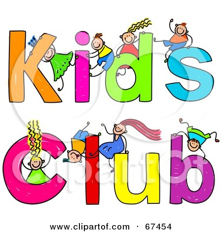 Royalty Free Rf Kids Club Clipart Illustrations Vector