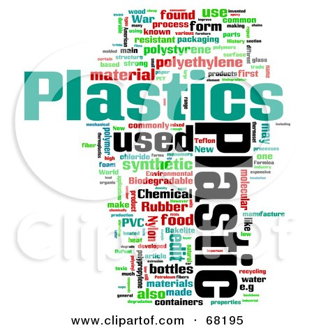 Royalty Free Rf Clipart Illustration Of A Plastic Word