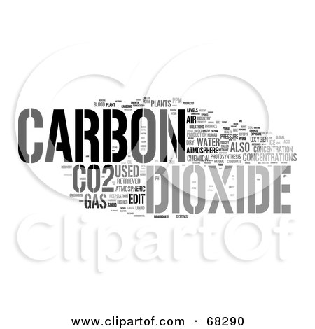 Maj1n Leaves v0r 68290-Royalty-Free-RF-Clipart-Illustration-Of-A-Carbon-Dioxide-Word-Collage-Version-3