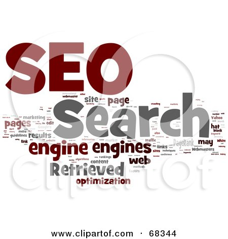 Royalty free rf clipart illustration of a 3d search for 3d search engine