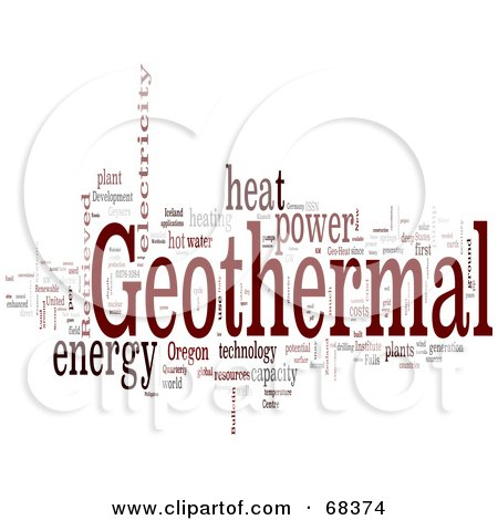 RoyaltyFree RF Geothermal Clipart Illustrations