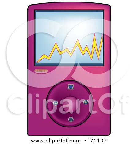 Royalty Free Mp3 Player Illustrations by Pams Clipart Page 1