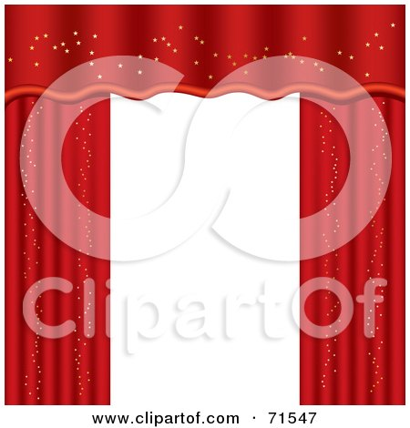 Red and White Polka Dot Kitchen Curtains - HOME SWEET HOME