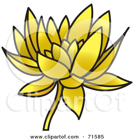 Picture Lotus Flower on Lotus Flower Clip Art Free  Art Print Description