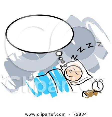 Sleeping Clipart & Vector Graphics.