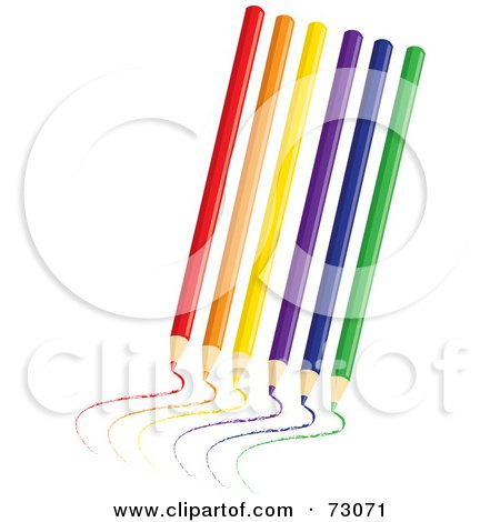 Royalty-Free (RF) Clipart Illustration of a Yellow School Pencil ...