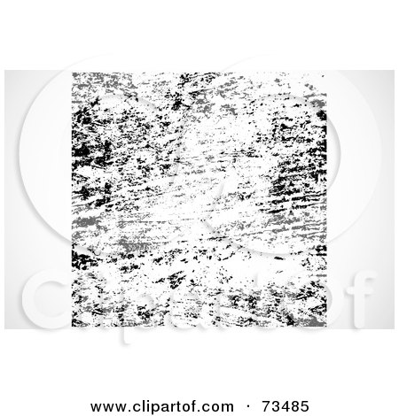 Royalty-Free (RF) Clipart Illustration of a Black And White Texture Background - Version 2 by BestVector