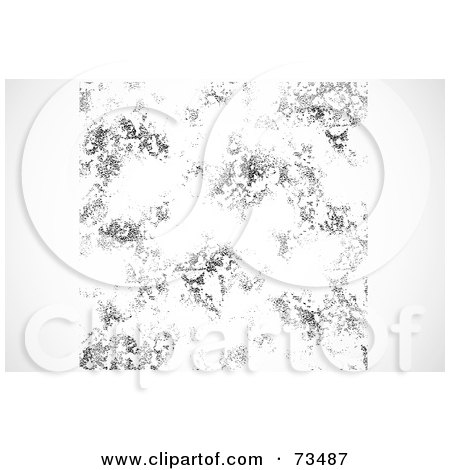 Royalty-Free (RF) Clipart Illustration of a Black And White Texture Background - Version 1 by BestVector