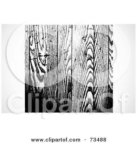 Royalty-Free (RF) Clipart Illustration of a Black And White Texture Background - Version 5 by BestVector