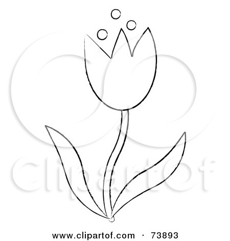 Spring flower outline spring flowers outline sparkassesscom royalty free stock illustrations of outlines by pams clipart page 3 mightylinksfo
