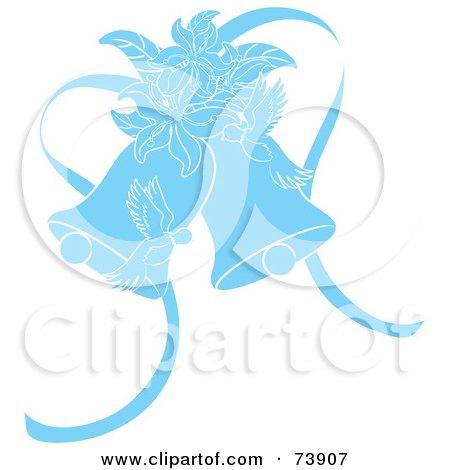 clip art wedding bells. Art Print Description