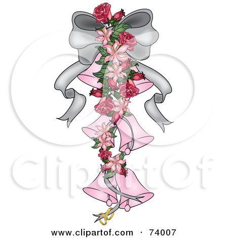 Royalty-Free (RF) Clipart of Wedding Bells, Illustrations, Vector ...