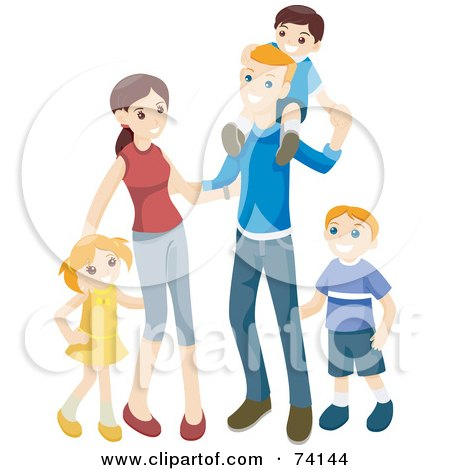 Royalty Free Stock Illustrations of Siblings by BNP Design ...