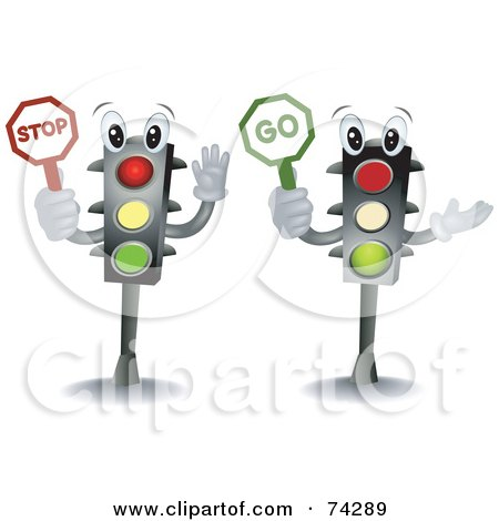 Royalty-Free (RF) Traffic Light Clipart, Illustrations, Vector ...