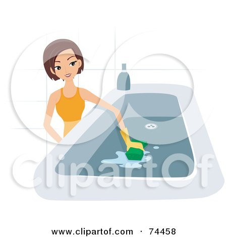 Royalty-Free (RF) Clipart Illustration of a Man Sick With ...