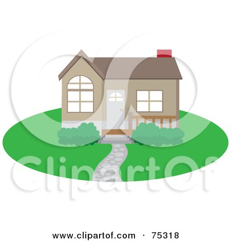 Clipart graphic illustration of two young beautiful real for Clipart estate