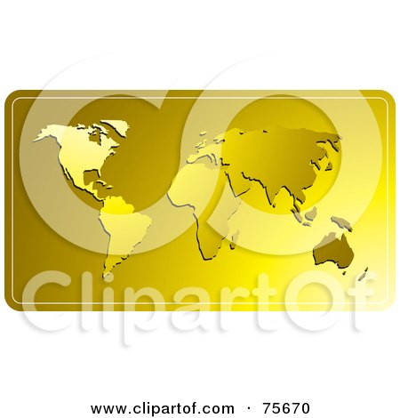 free clip art world map