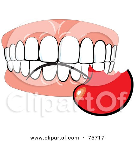 Royalty-Free (RF) Bite Clipart, Illustrations, Vector Graphics #2
