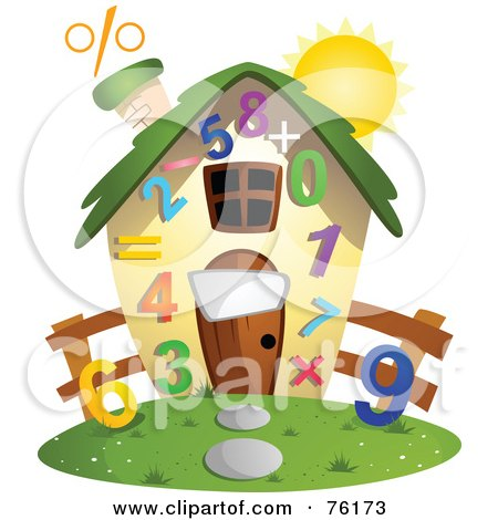 Royalty-Free (RF) Clipart Illustration of a Digital Collage Of School