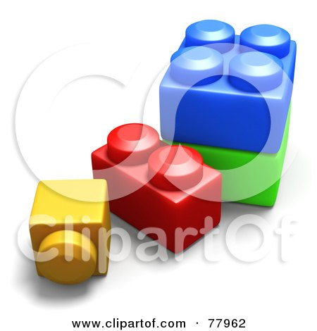 Royalty-Free (RF) Clipart of Building Blocks, Illustrations ...