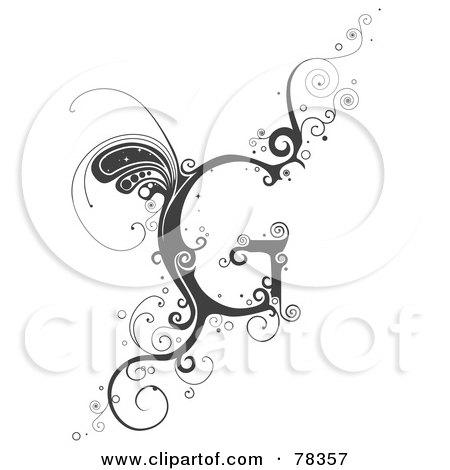 Alphabet Letter G by BNP  G Letter Tattoo Design