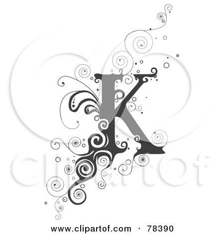 K Alphabet Letter Alphabet Letter K by BNP