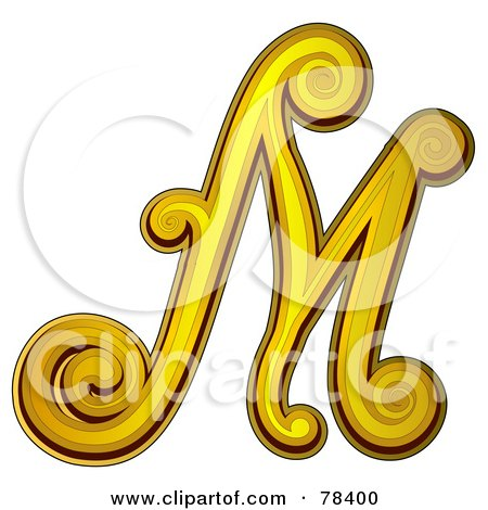 Royalty Free Rf Clipart Illustration Of An Elegant Gold