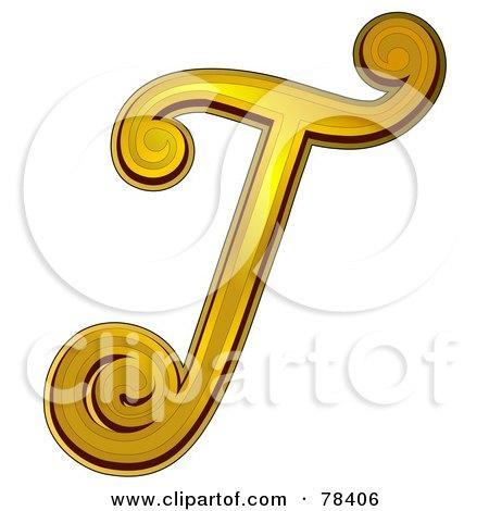 Letter T Designs