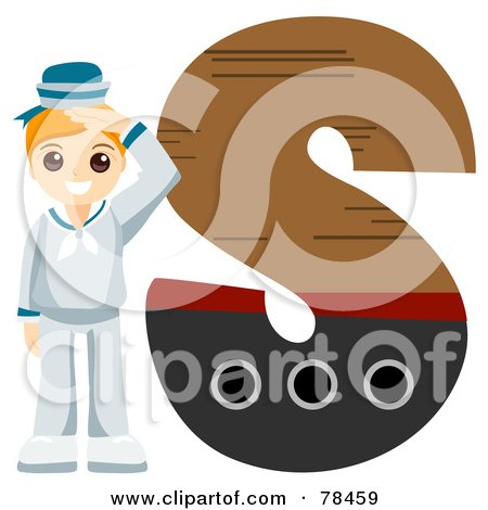 letter s clipart. Alphabet Kid Letter S With A
