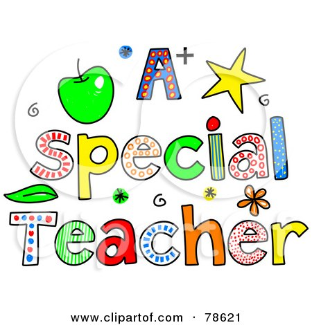 Clipart of a Doodled Sketch of Children Playing on the Words Thank ...