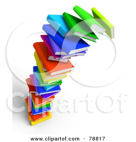 royalty free rf clipart of stack of books illustrations vector rh clipartof com