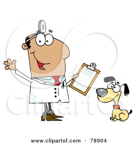 Royalty-Free (RF) Clipart Illustration of a Hispanic Cartoon Dog ...