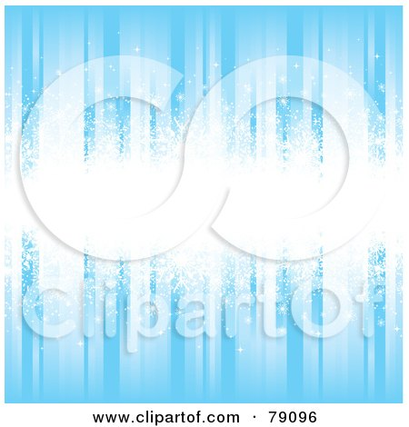starry wallpaper. Blue Snowflake Background With Multiple Sized Flakes Posters,