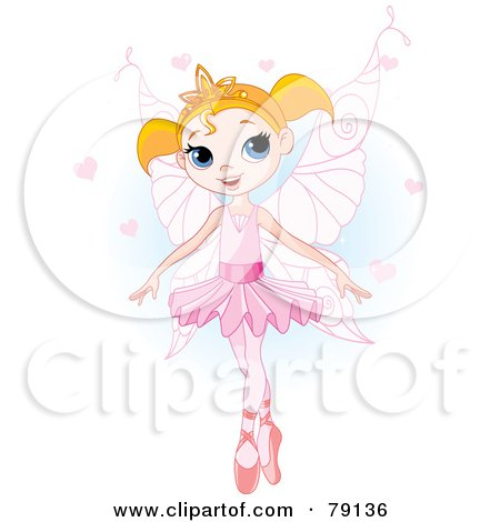 Pretty Blond Ballet Princess In A Pink Tutu And Slippers Posters, Art Prints