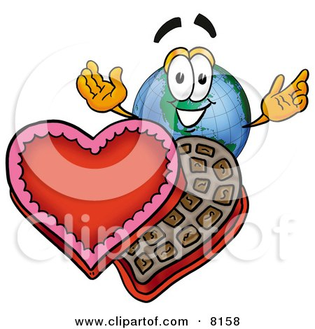 earth day cartoon pictures. Earth Globe Mascot Cartoon